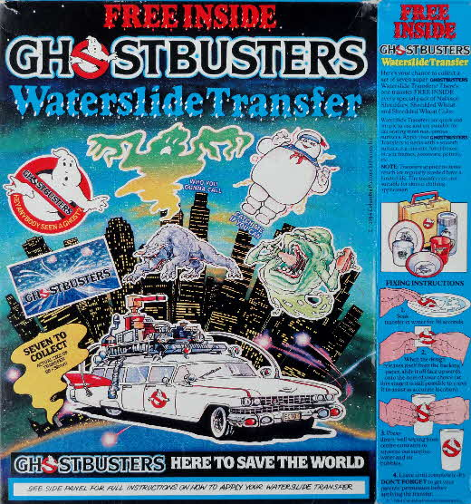 1984 Shreddies Waterslide Transfer