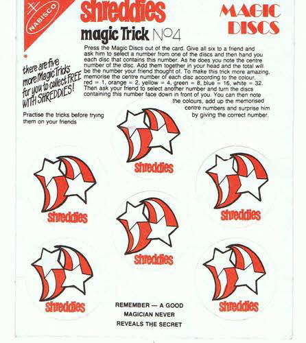 1980 Shreddies Magic Tricks No 4 (betr) (1)