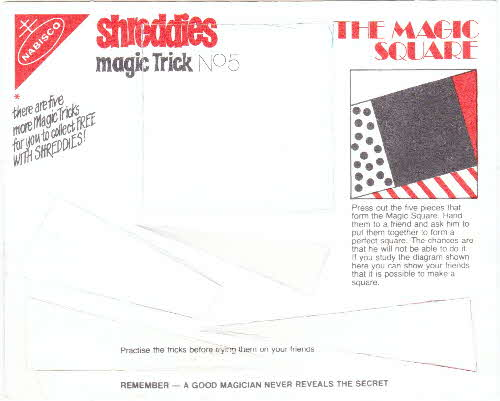1980 Shreddies Magic Tricks No 5 (1)