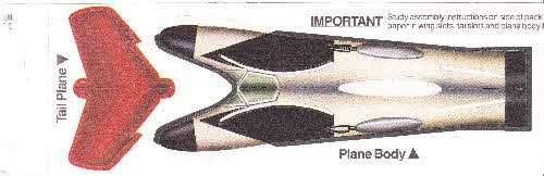 1985 Shredded Wheat Transforemers Scout Plane - Ramjet (2)