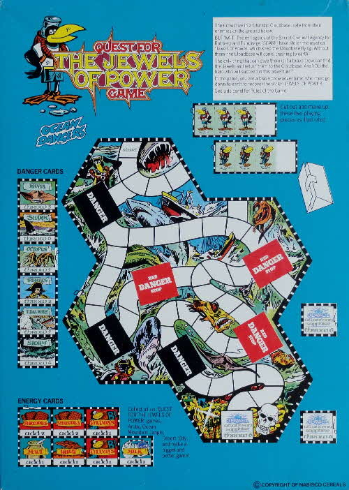 1988 Shreddies Quest for The Jewels of Power Game (1)