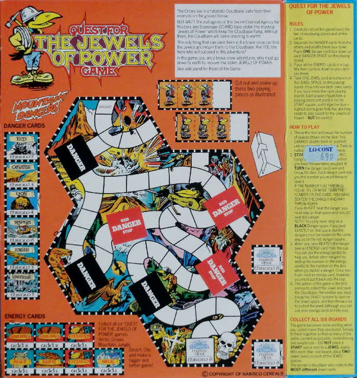 1988 Shreddies Quest for The Jewels of Power Game (2)