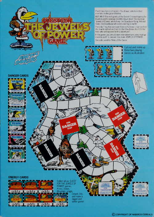 1988 Shreddies Quest for The Jewels of Power Game (3)