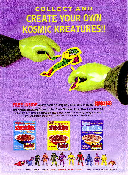 1991 Shreddies Kosmic Kreatures1