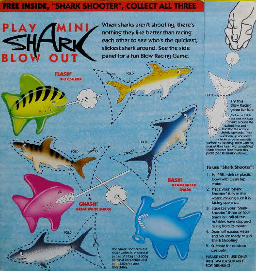 1992 Shreddies Shark Shooter  (1)