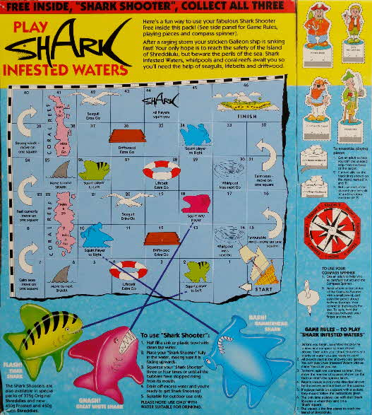 1992 Shreddies Shark Shooter  (3)