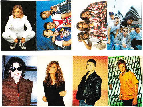 1996 Shreddies Smash Hits stickers (1)