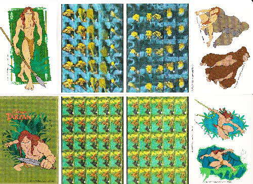 1999 Shreddies Tarzan stickers 2 (2)
