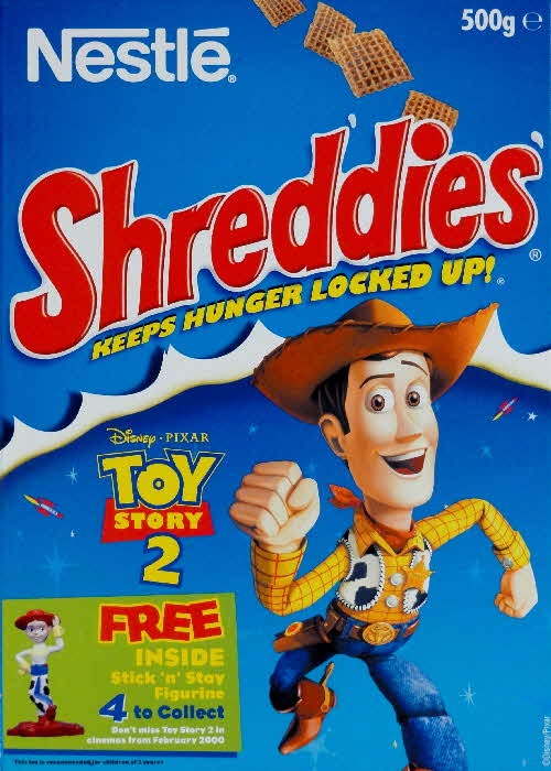 1999 Shreddies Toy Story 2 Stick n Stay Figurine front  (1)