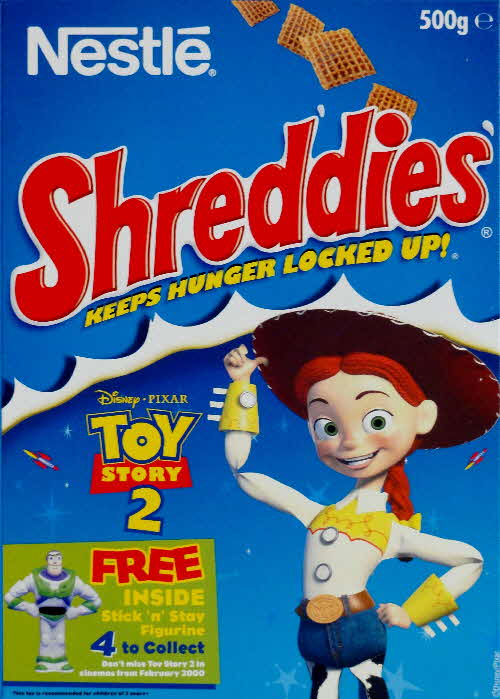 1999 Shreddies Toy Story 2 Stick n Stay Figurine front  (2)
