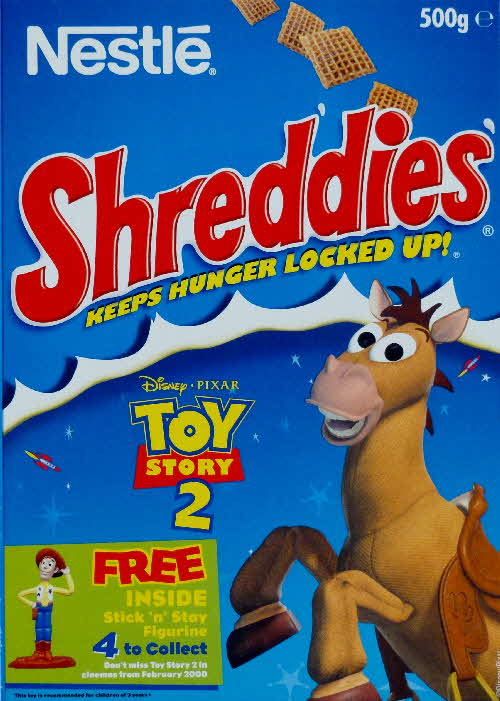 1999 Shreddies Toy Story 2 Stick n Stay Figurine front  (3)