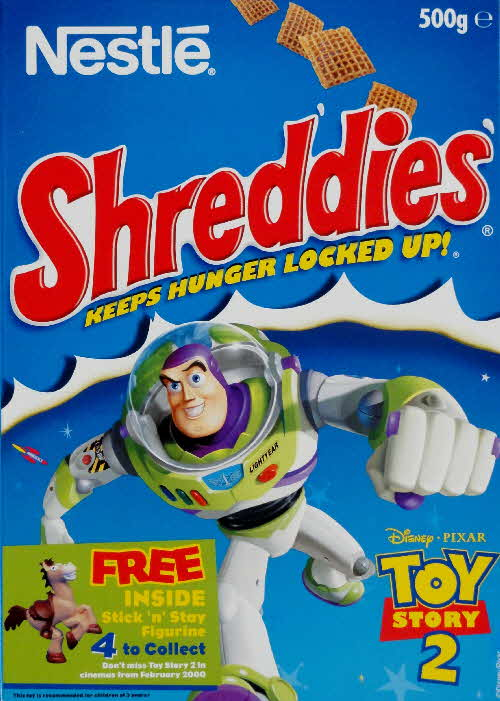 1999 Shreddies Toy Story 2 Stick n Stay Figurine front  (4)