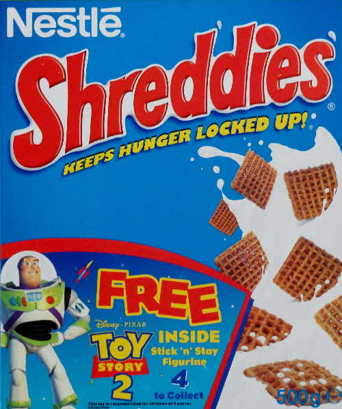 1999 Shreddies Toy Story 2 Stick n Stay Figurine front  (5)