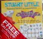 2000 Shreddies Stuart Little Sticker Calendar front1 small