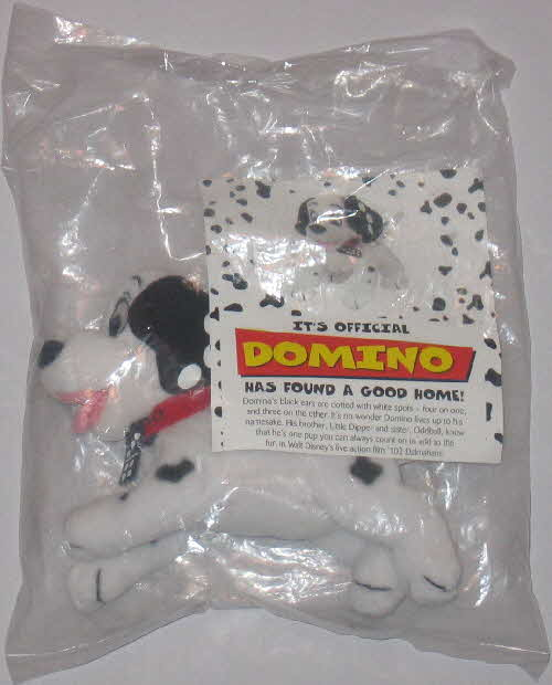 2000 Shreddies 102 Dalmations Puppy Bean toy