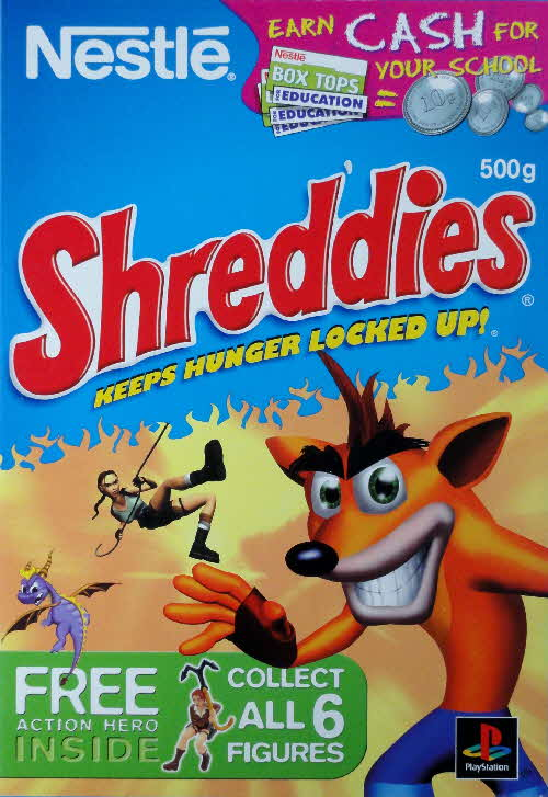 2001 Shreddies Playstation Action Hero front (2)