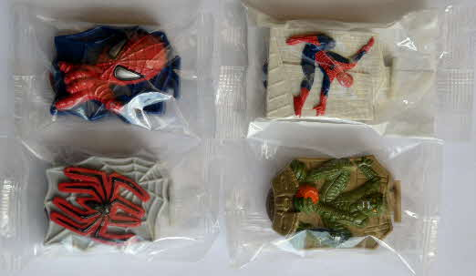 2002 Shreddies Spiderman Shooter - mint