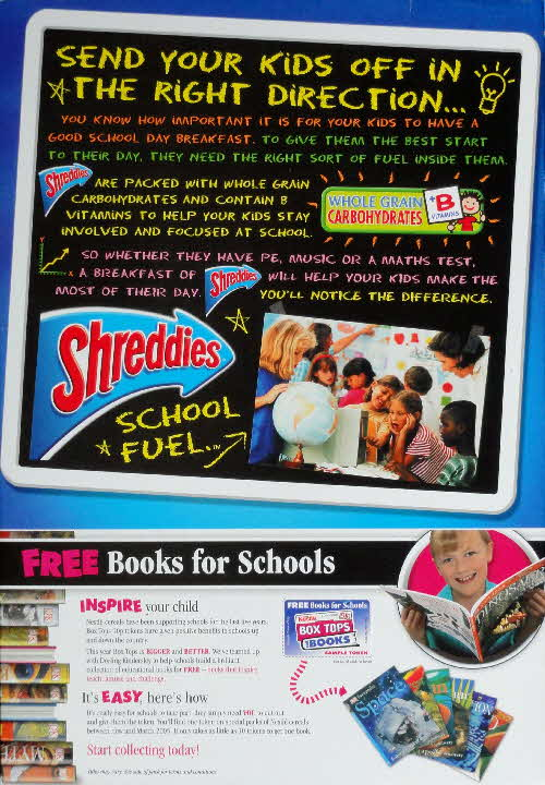 2004 Shreddies Free Books for School (2)