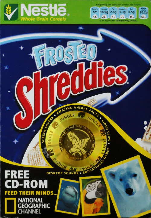 2006 Shreddies National Geographical CD Rom front (1)