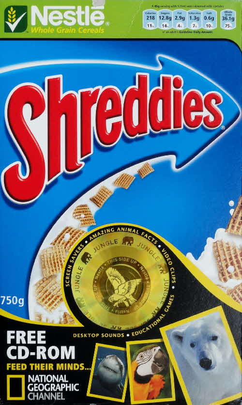 2006 Shreddies National Geographical CD Rom front (2)