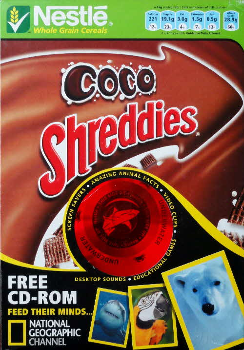 2006 Shreddies National Geographical CD Rom front (3)
