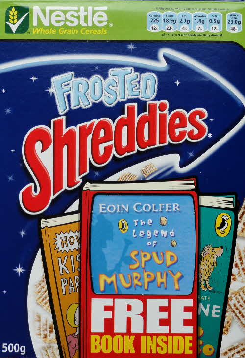 2006 Shreddies Puffin Book front (1)