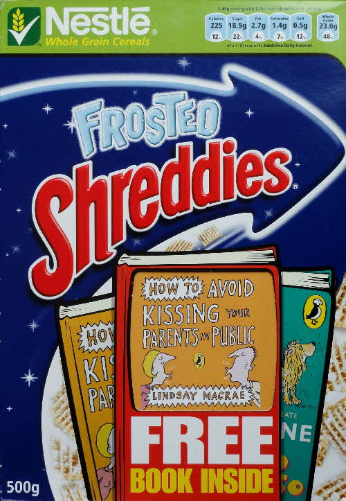 2006 Shreddies Puffin Book front (2)