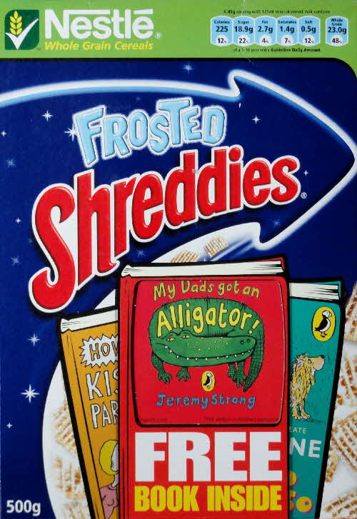 2006 Shreddies Puffin Books front (2)