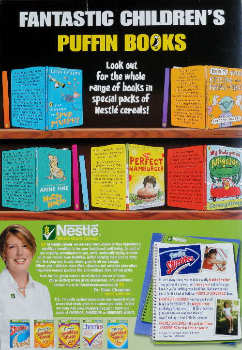 2006 Shreddies Puffin Books