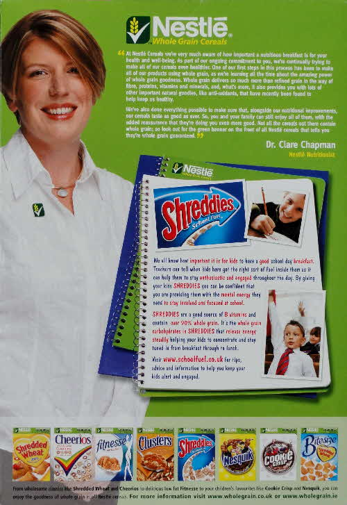 2006 Shreddies Nutritionist (2)