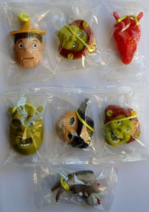 2004 Shreddies Shrek 2 Fun Faces - mint