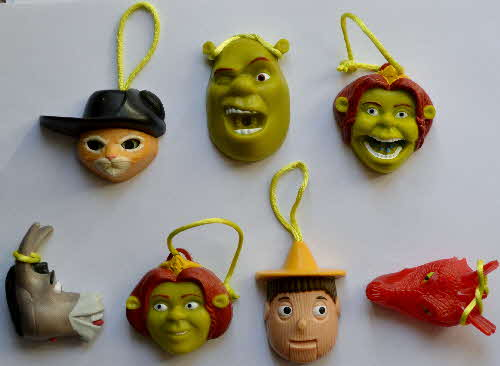 2004 Shreddies Shrek 2 Fun Faces1