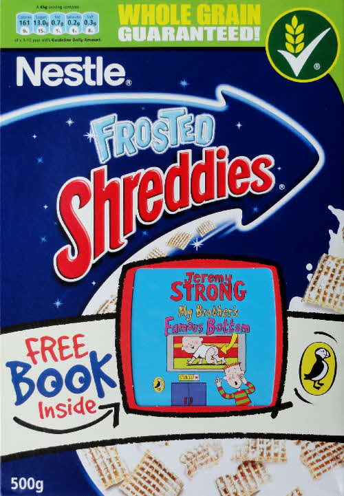 2007 Shreddies Puffin Book front (2)
