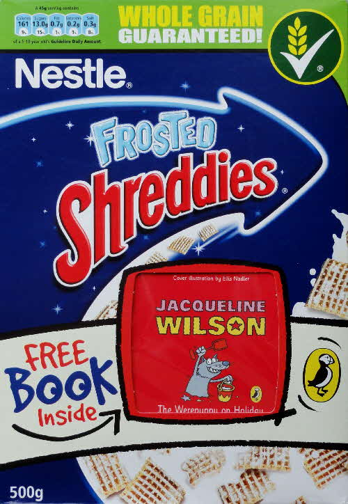 2007 Shreddies Puffin Book front