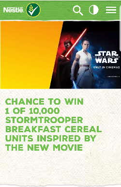 2019 Shreddies Star Wars Competition  (1)