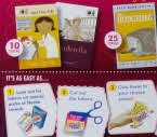 2012 Shreddies Books for School Tokens1 small