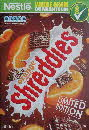 2012 Shreddies Limited Edition Chocolate Orange front1 small