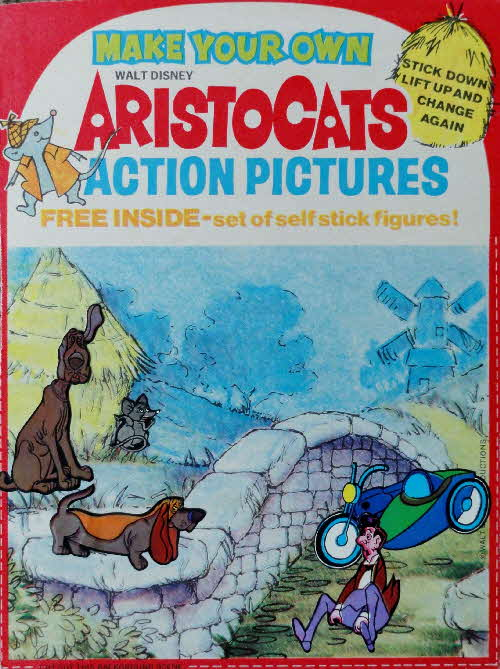 1971 Spoonsize Aristocats Actions Pictures & Stickers made  (3)