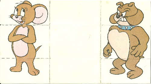 1974 Shreddies Tom & Jerry Crazy Crazy Card No 3 (2)