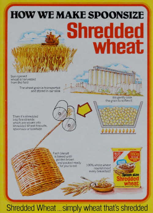 1978 Spoonsize How we Make Shredded Wheat