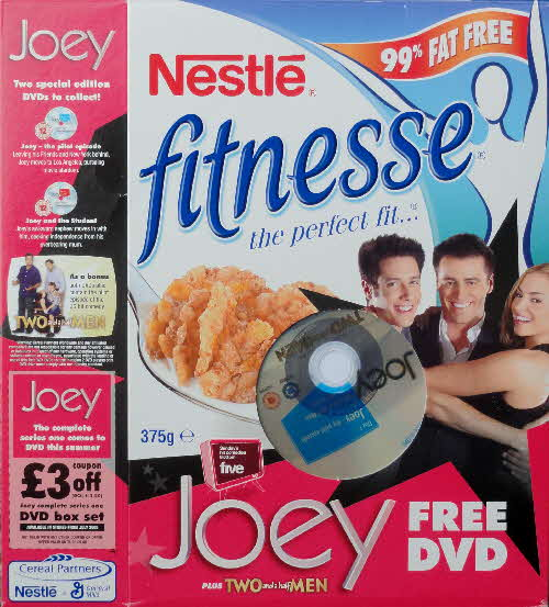 2005 Fitnesse Free Joey DVD front (2)