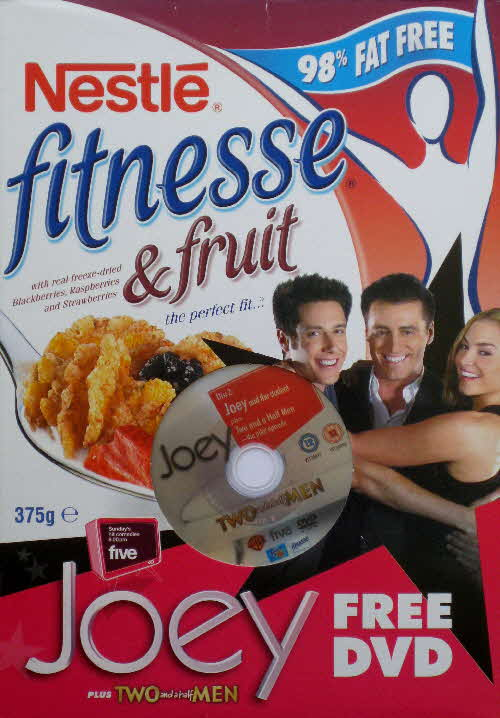 2005 Fitnesse Free Joey DVD front