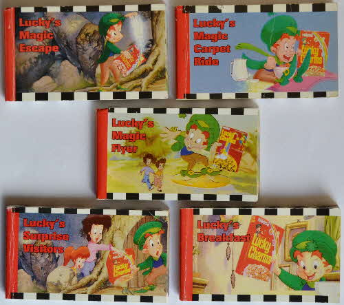 1993 Lucky Charms Cartoon Flicker Book (1)
