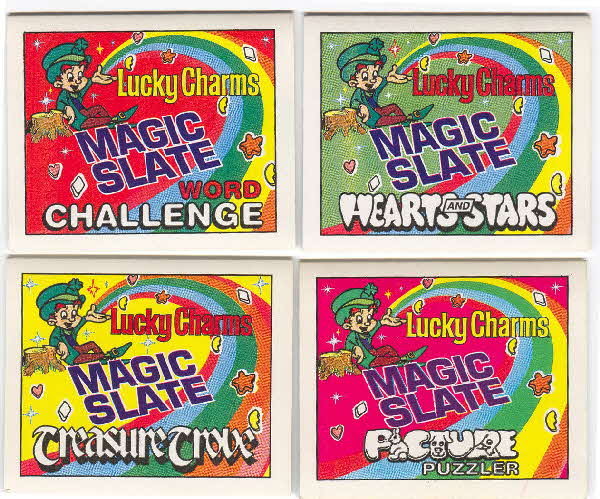 1992 Lucky Charm Magic Slate