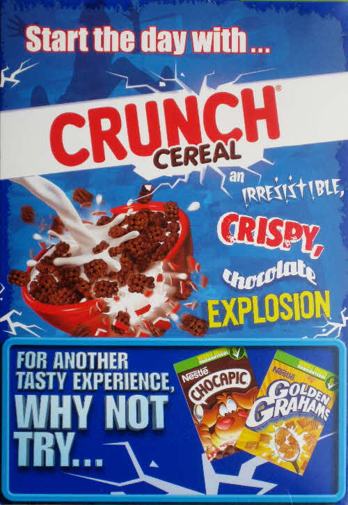 2010 Crunch Cereal New back