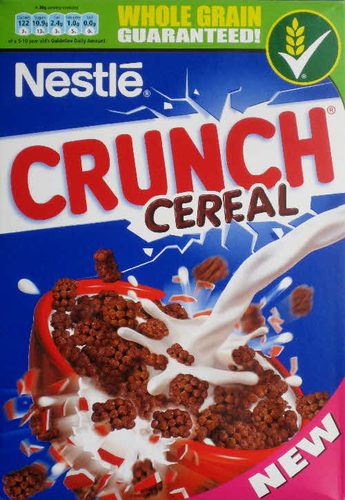 2010 Nestle Crunch New front