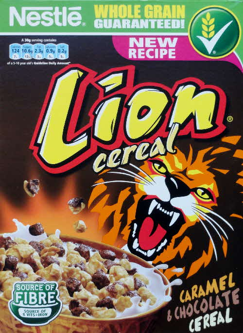 2011 Lion New recipe front