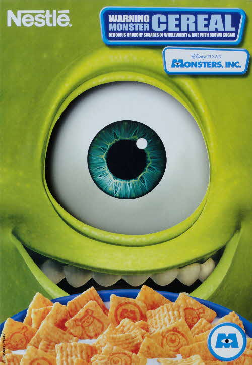 2001 Monsters Inc   Mike front