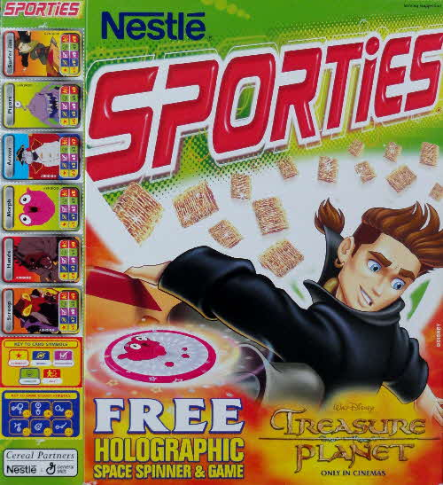2002 Sporties Treasure Planet Spinners