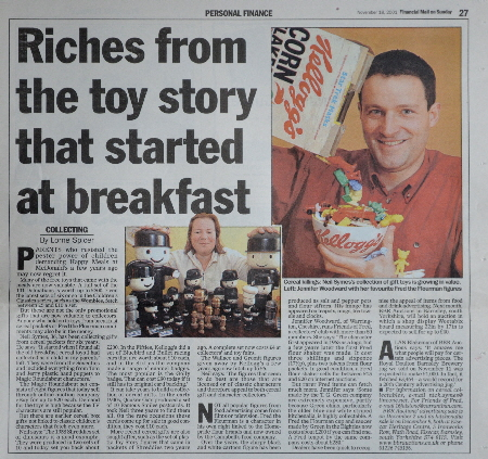2001 Mail on Sunday article